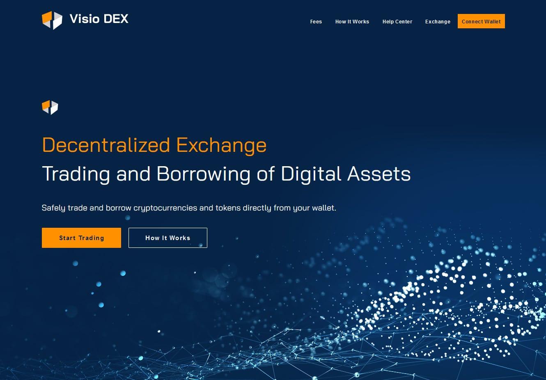Visio DEX, le première plateforme de trading de cryptomonnaie décentralisée francophone
